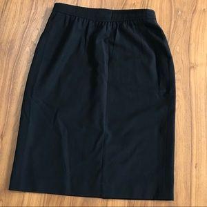Vintage Escada Pencil Skirt